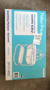 Brand new Fisher-Price Bassinet Sandy Springs, 30342