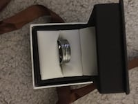 Brand new, never worn, men's titanium wedding band, size 9, Bloomington, 61701