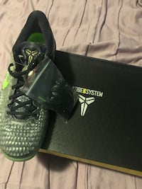 black and green Nike basketball shoes Rockville, 20853