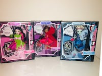 Monster High Scary Tales Bundle 3 Dolls Snow Bite~Little Dead Riding Wolf~Threadarella Lot New Dallas, 75254