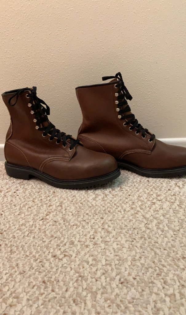 Photo NEW Red Wing size 11EE Supersole Steel Toe 8 Work Boots