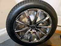4 Brand new  275/45r 20 inche rims and tires  Waldorf