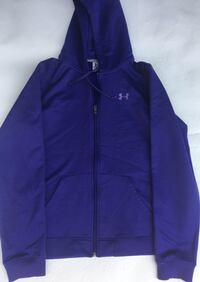 blue Under Armour zip-up hooded jacket Toronto, M6B 2E9