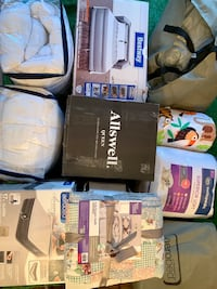 Matresses & Full Lot of Bedding Supply New Never Used