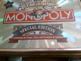 Special Edition America Monopoly