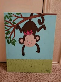 Princess Monkey Canvas Picture Flower Mound, 75028