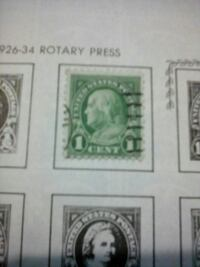 1 Cent postage stamp