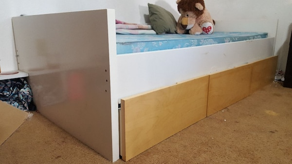 Twin base bed