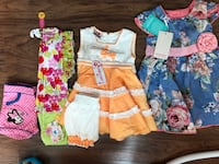 6M-12M all new never worn Baby girl clothes Mississauga, L5B 0K4