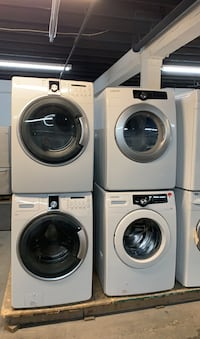 "27"" washer and dryer front load  499$ each  1 year warranty  Toronto, M6H 2C5"
