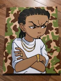 Boondocks Painting (custom)