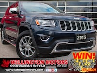 2015 Jeep Grand Cherokee Limited >> 4 NEW TIRES >> ACCIDENT FREE !! Guelph