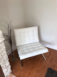 white and black wooden chair Laval, H7P 0K6