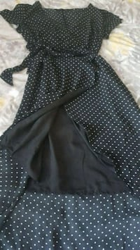 Dynamite Polk dot Black/White Wrap Dress Toronto, M9P 1A9