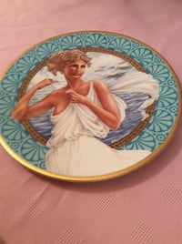 Helen of Troy Numbered Collectors Plate  RICHMONDHILL