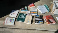 assorted educational book lot