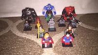 DC Justice League assorted minifigures and bigfigs Long Beach, 90805