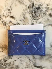 Chanel patent card holder Toronto