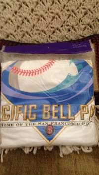 Pacific Bell park San Francisco giant T-shirt men's extra large bag never opened. He must have for any San Francisco Giants collector! Tustin, 92782