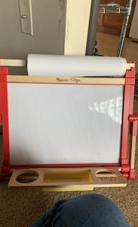 Double Sided Dry Erase Board and Chalkboard w/ Paper Roll Falls Church, 22041