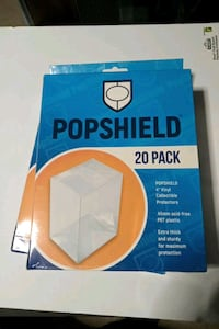 Funko pop shields 20 pack $30 firm Toronto, M6P 3Y9
