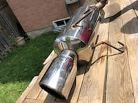gray and black upright vacuum cleaner Whitchurch-Stouffville, L4A 0J8