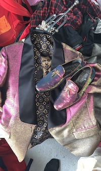 Suit jacket and shoes