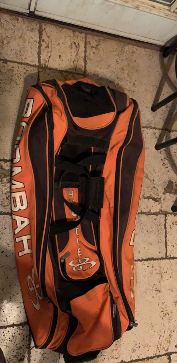 Boombah Catchers Bag With Wheels