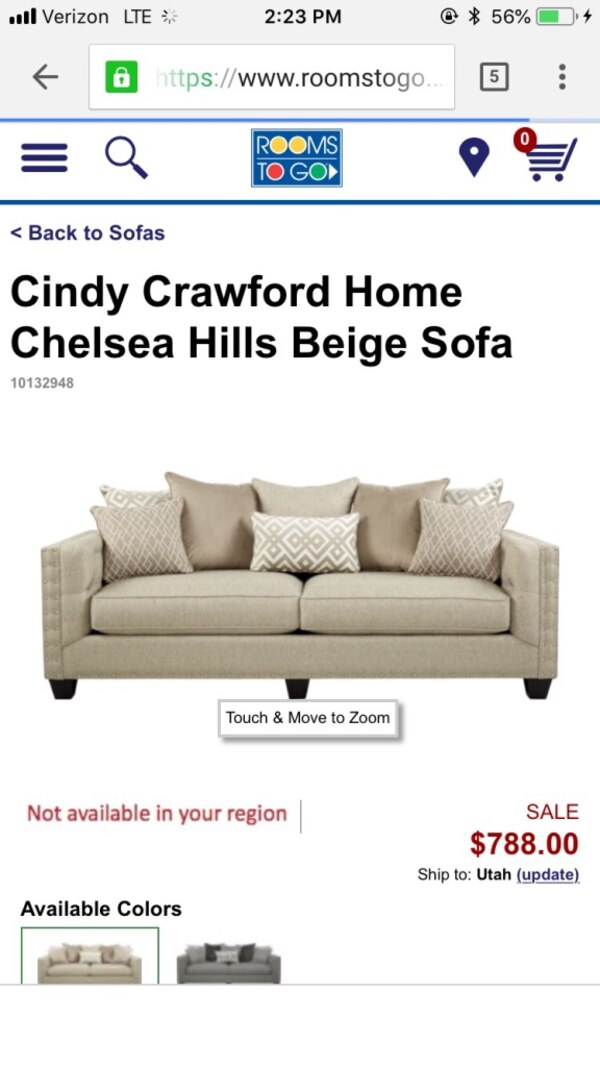 Prime Cindy Crawford Home Sofa Short Links Chair Design For Home Short Linksinfo