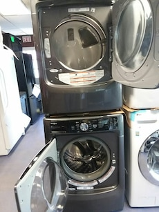 #1728 Maytag Maxima XL front load washer and dryer