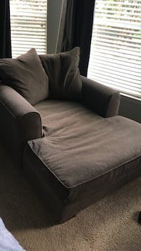 Grey sofa chair in great cond
