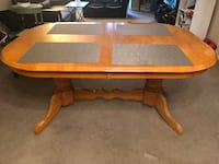 Pilcher Extendable Solid Wood Dining Table UPPERMARLBORO
