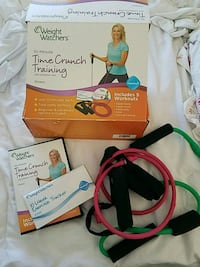 Weight watchers time crunch workout exercise DVD  Greeley, 80634