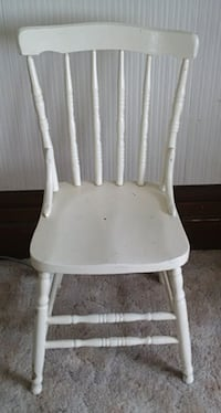 Antique Painted Solid Wood Chair Saint Marys