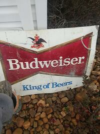 Red white and blue sign Budweiser 300 or best offe Spring City, 37381