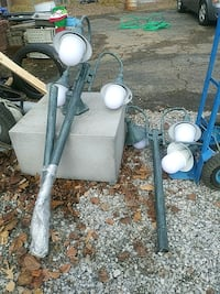 Interior or exterior lamp post with base box Nashville, 37211