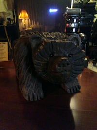 This is a retired spirit mountain bear. A very nice art wood carving. Portland, 97230