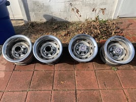 6 lug Rally wheels