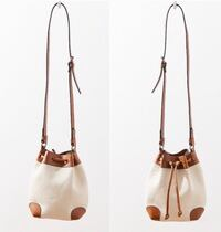 Urban Outfitters Canvas Bucket Crossbody Bag