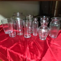 Assorted Vases (10 total) Liberty, 29657