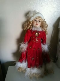 girl's red and brown fur dress Jurupa Valley, 91752