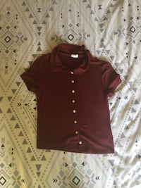 Maroon button-up shirt Winnipeg, R2V 4Y2
