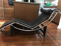 Black leader LC4 Chaise Lounge (replica) chair Vancouver, V6B 0C2