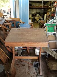 brown and gray table saw NEWROADS