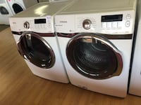 Samsung white stackable washer and dryer set  Woodbridge, 22191