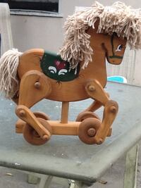 4 willer rocket wooden horse roller gold and green brand new $109 bucks and pick up only  Los Angeles, 91325