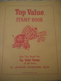 Top Value Stamp Book