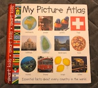 My Picture Atlas (Smart Kids S.) by Roger Priddy Hardback Book Montréal, H8R 3B5