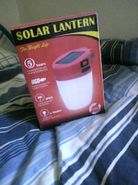 Red solar latern Hyattsville, 20784
