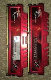 RipJaws DDR3 ram 8GB kit  Mc Lean